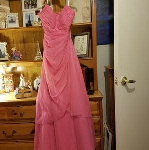 Morgan and Company Pink Formal Dress